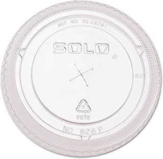 product image for Straw-Slot Cold Cup Lids, Clear, 100/PK