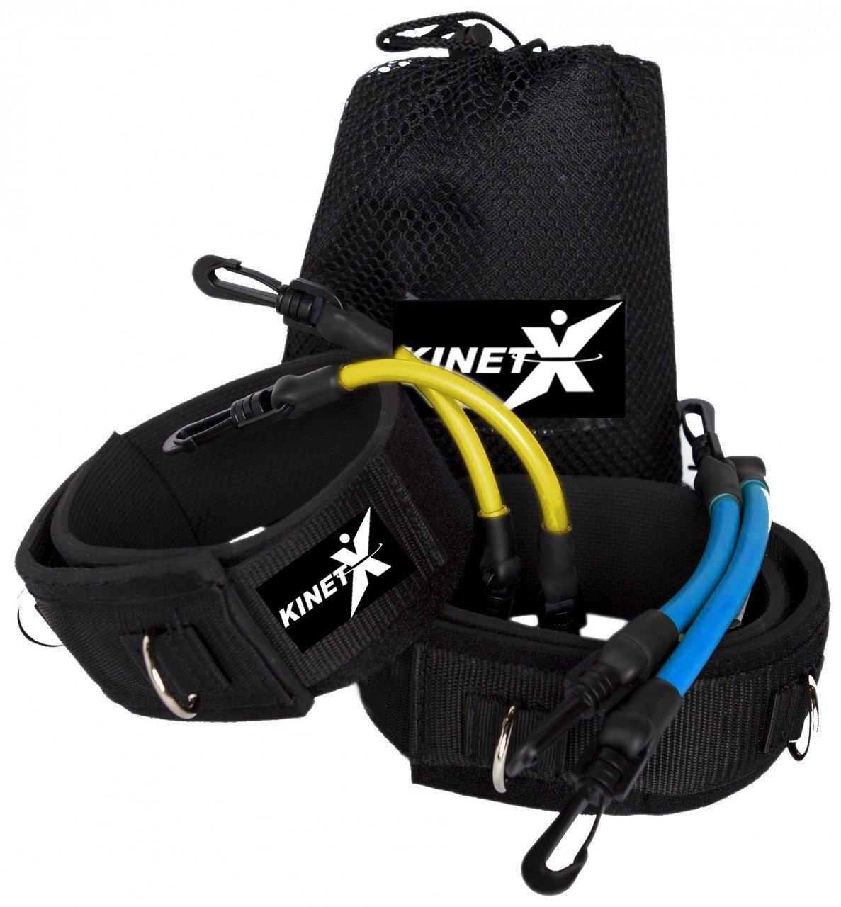 KinetX - Kinetische Widerstands-Beinbänder für effektives Core-Training - Neuheit - Das Original! Kinetx.eu 11035