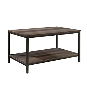 "Sauder 423025 North Avenue Coffee Table, L: 31.50"" x W: 20.00"" x H: 16.54"", Smoked Oak Finish"