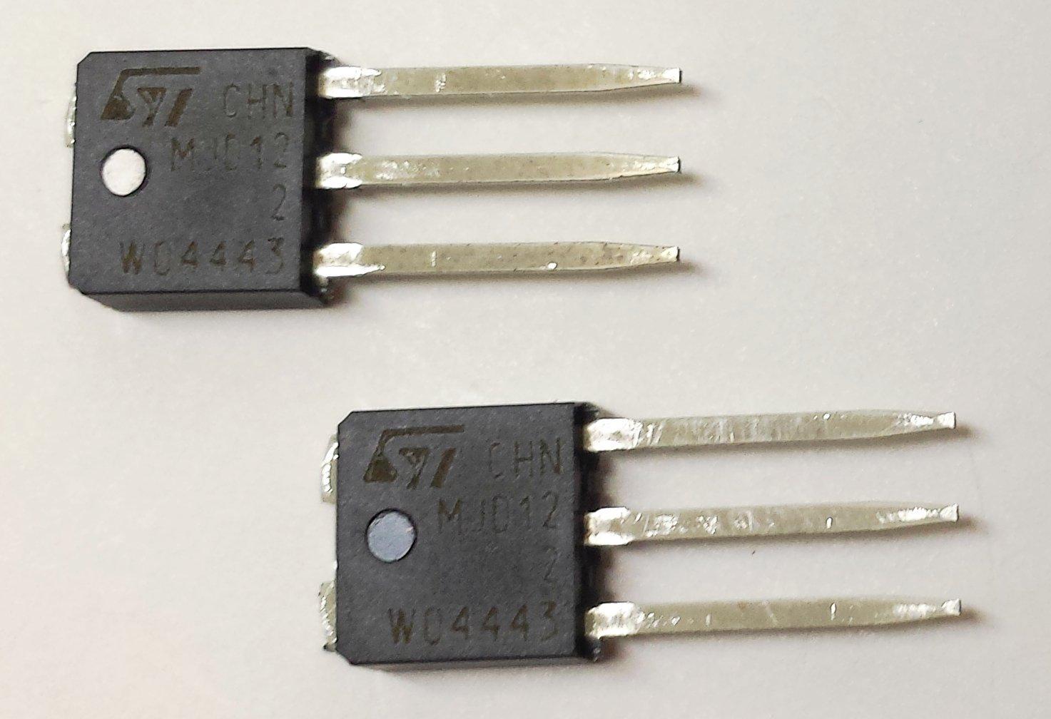20 pieces MJD122-1 NPN POWER DARLINGTON TRANSISTOR | VCBO 100V | VCEO 100V | 5A | Ptot 20W | TO-251 IPAK Gehäuse