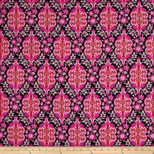FreeSpirit Fabrics Free Spirit 0556107 Jennifer Paganelli Judith's Fancy Eileen Yard, Black