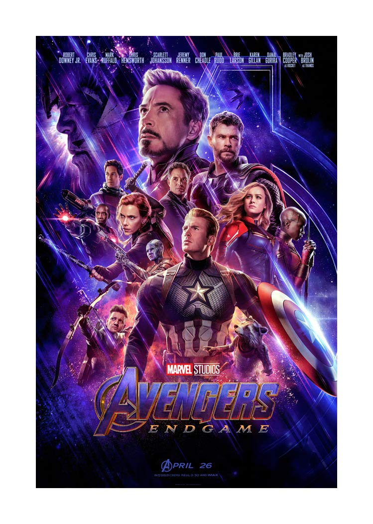 Iron Man The Avengers Infinity War movie poster f : 11 x 17 inches