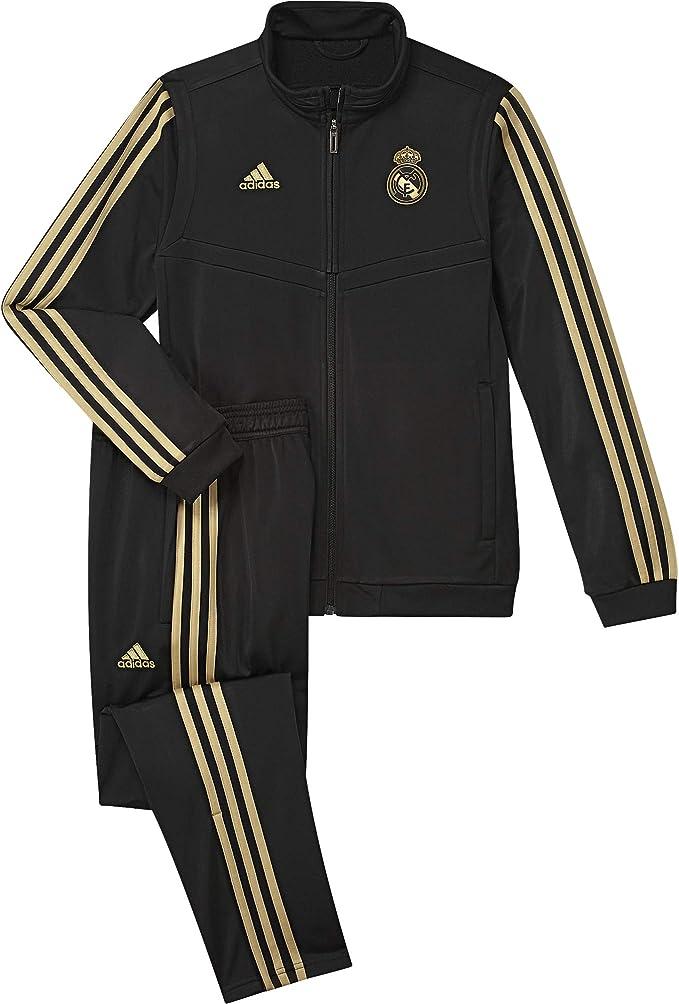 adidas Real PES Suit Y Chándal, Unisex niños: Amazon.es: Deportes ...