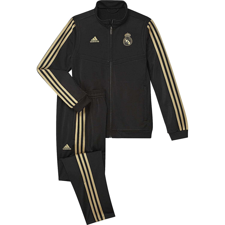 b174ca92 Amazon.com : adidas 2019-2020 Real Madrid PES Tracksuit (Black ...