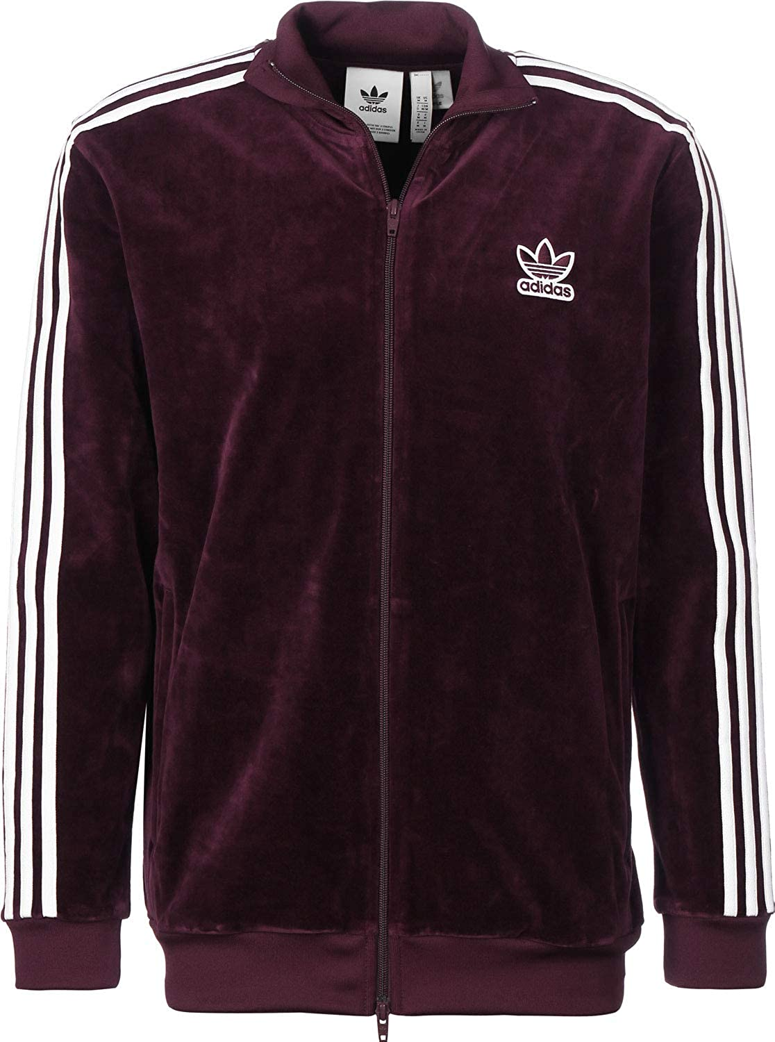 official photos outlet store discount shop adidas Giacca Casual BB Track Uomo Bordeaux DH5789-BORDEAUX ...