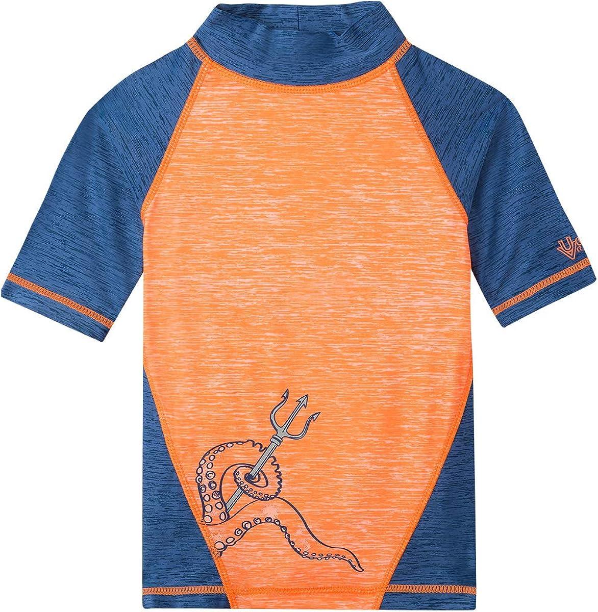 UV SKINZ UPF 50 Mens Long Sleeve Sport Crew Sun /& Swim Shirt