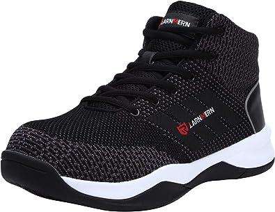 LARNMERN Zapatos Seguridad con Punta de Acero para Hombre Mujer ...