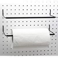 Paper Towel Holder for Pegboard, Extendable, Fit Any Standard Pegboard, Pegboard Organization Accessory Hook for…