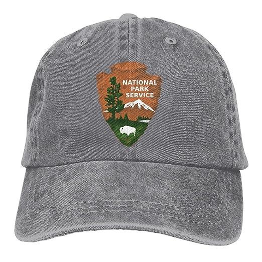c343176ce18 National Park Services Denim Cap Strapback Hat Ash at Amazon Men s ...