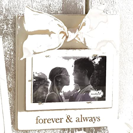 Mud Pie Forever And Always Photo Frame Amazoncouk Kitchen Home