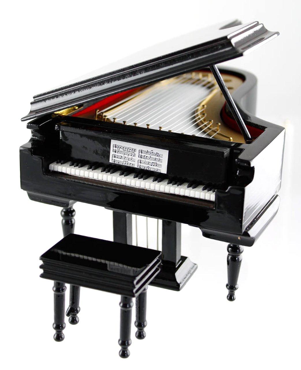 Spieluhr Flügel - Schönes Geschenk für Musiker