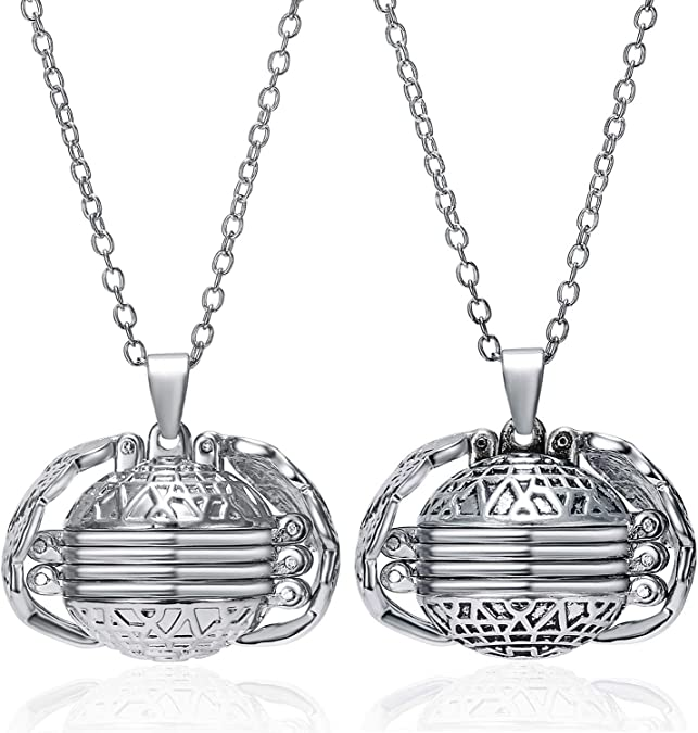 Sterling Silver 6 Picture Photo Ball Locket Necklace for Mothers /& Grandmothers Handmade 3 Sizes
