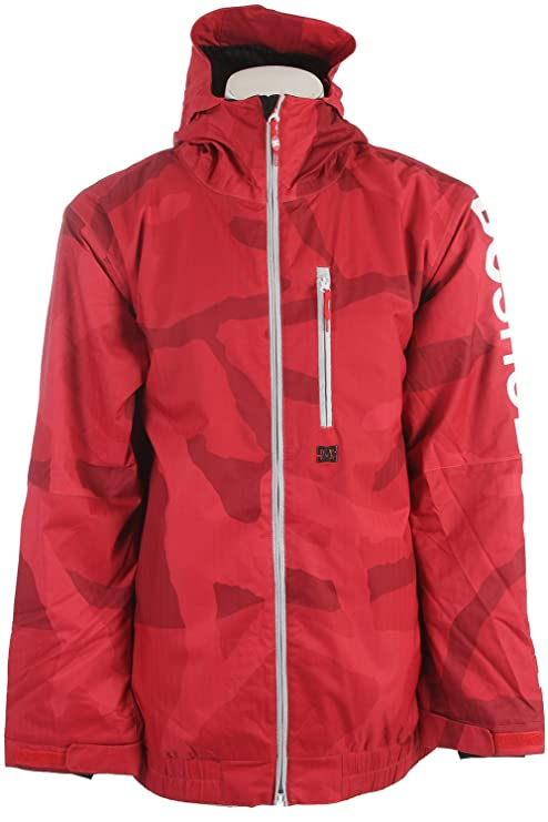 DC Shoes Ripley SE – Chaqueta de esquí para hombre Rouge - Red Camo L