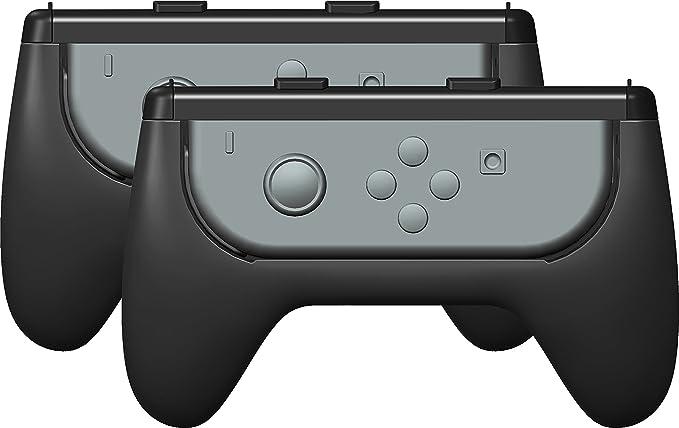 Gioteck - Pack Gioteck de dos Grips adaptadores para mandos Joy-con (Nintendo Switch): Amazon.es: Videojuegos