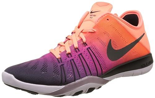 best service 0be0a 05f8e Nike Womens WMNS Free TR 6 Spectrum, Bright MangoBlack, ...