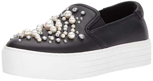 860fd1a29b27b Kenneth Cole New York Women's Ashby Pearl Platform Slip Faux Jewels ...