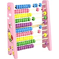 Little grin wooden abacus toy with 100 beads for kids & toddlers
