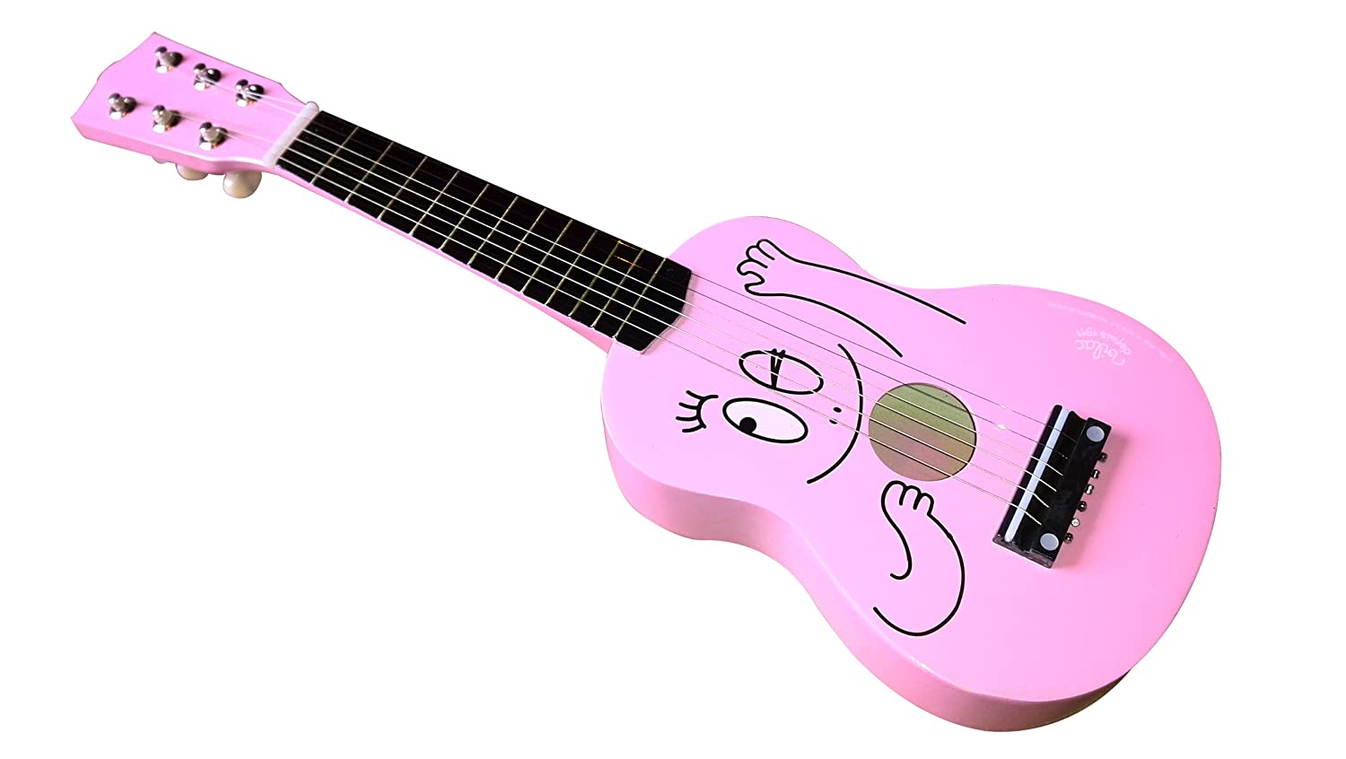 barbapapa gitarre von vilac f r kinder ab 3 jahren ebay. Black Bedroom Furniture Sets. Home Design Ideas