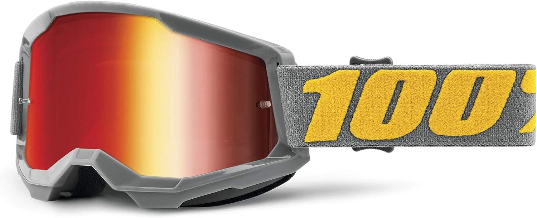 Ranking TOP17 100% Strata 2 Motocross Mountain Bike Rac Goggles Max 67% OFF and MTB MX -