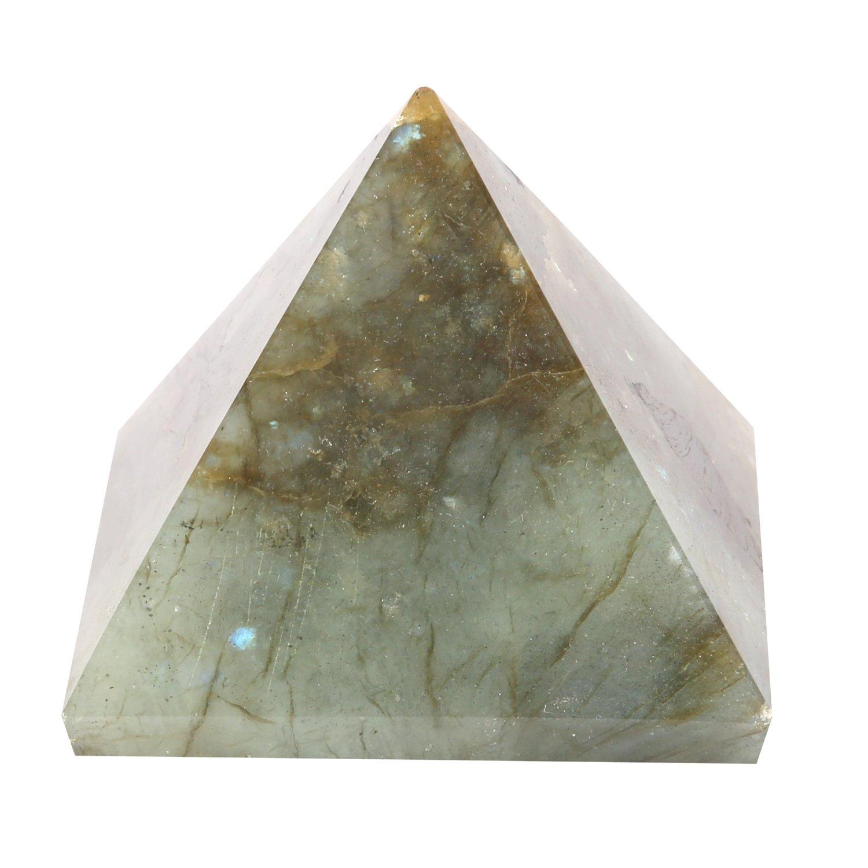 Aatm Gemstone Grey Pyramid (Stone of Transformation)
