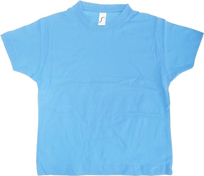 SOLS - Camiseta básica de manga corta Modelo Imperial Unisex ...