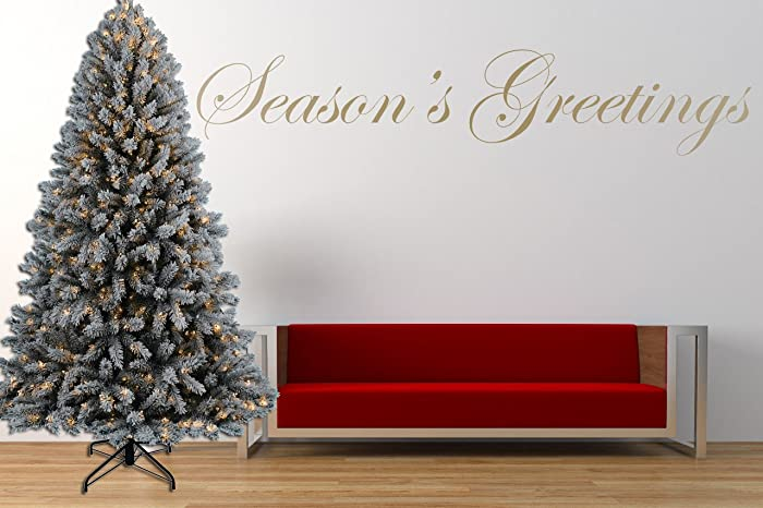 Amazon seasons greetings christmas quote vinyl wall art seasons greetings christmas quote vinyl wall art sticker mural decal m4hsunfo