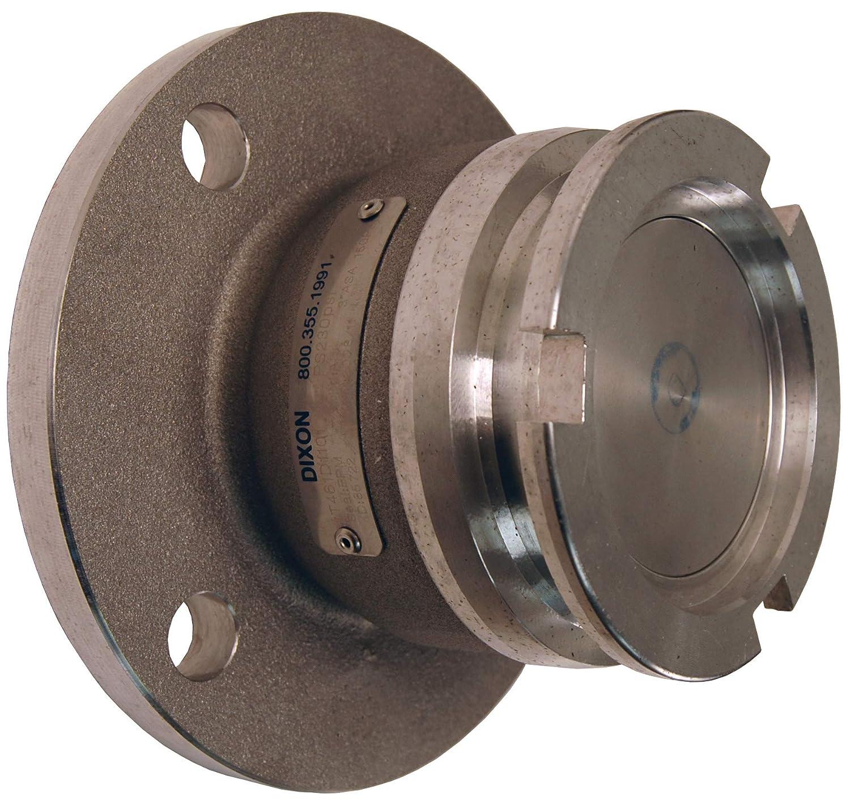 FKM Seals 3 3 Dixon DDA300AL105FL Aluminum Dry Disconnect Adapter x 150# Flange 105 mm