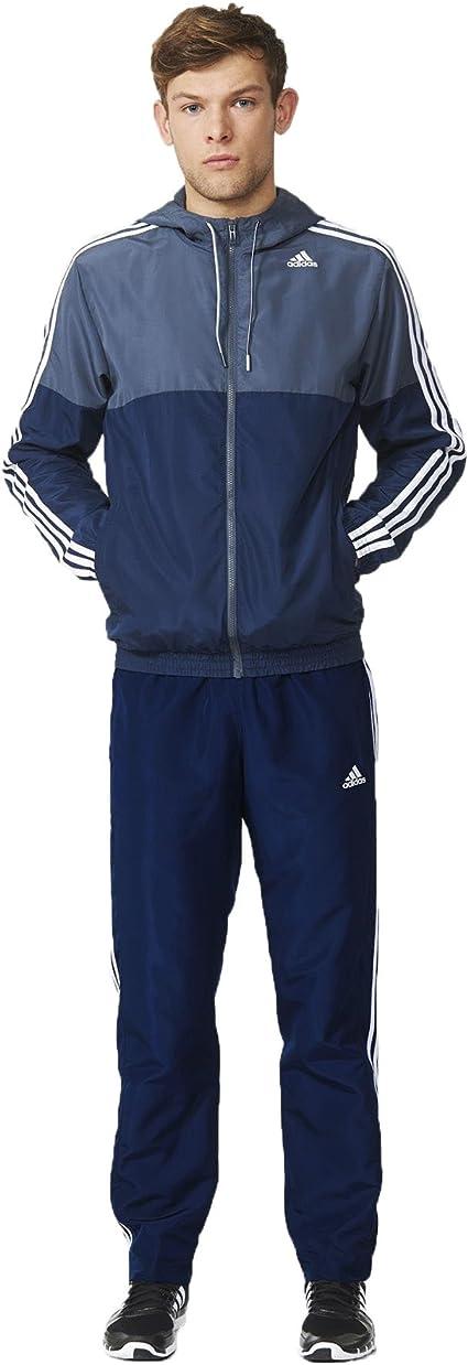 adidas TS Train WV Survêtement pour Homme, Bleu 168