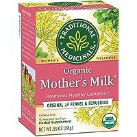 Traditional Medicinals Mother's Milk Tea - Organic Tea for Breastfeeding, Traditional Medicines Lactation Tea, Pack 1