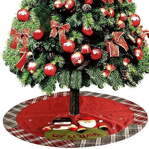 Navidad decoración del partido Feliz Navidad falda del árbol ...