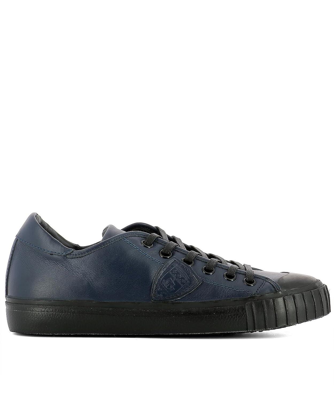 Philippe Model メンズ GRLUVL07 ブルー 革 運動靴 B07DXJW1CZ