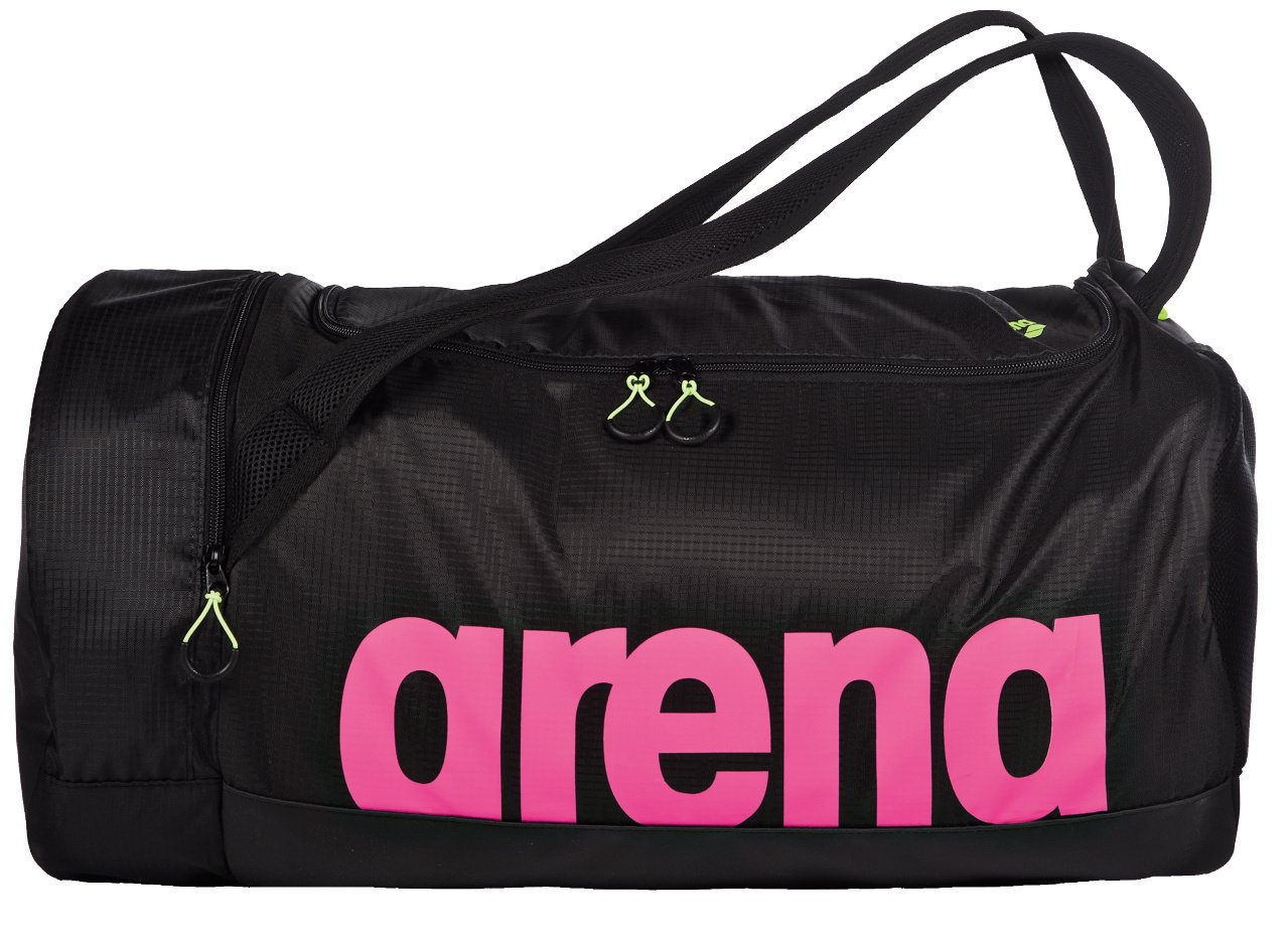 arena FAST Swim Duffle Bag, Fuchsia / Black
