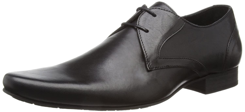 H Shoes Goring, Chaussures de ville homme - Noir (Black), 45 EU