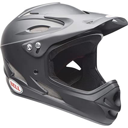 Bell Full Face Helmet >> Amazon Com Bell Servo Adult Bmx Helmet Matte Black Sports Outdoors