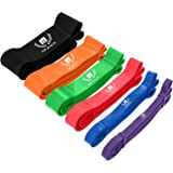 Mava Pull Up Assistance Band, Heavy Duty Resistance Bands for Body Stretching & Mobility, Exercise Band for Workout & Training - Powerlifting Bands for Men and Women