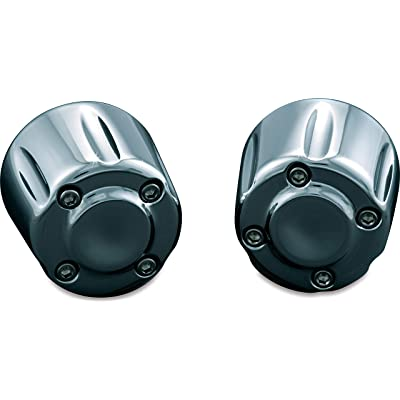 Kuryakyn 6238 Motorcycle Handlebar Accessory: Hand Grip End Cap Weight, Chrome, 1 Pair: Automotive