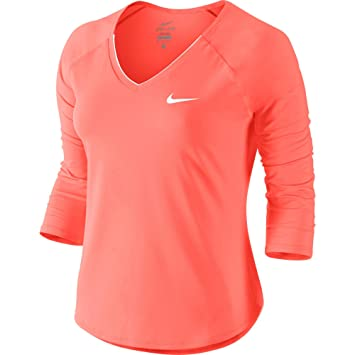 3 Shirt 34 Manches Pour 4 Femme Nkct Pure Nike W T qwtYYHp