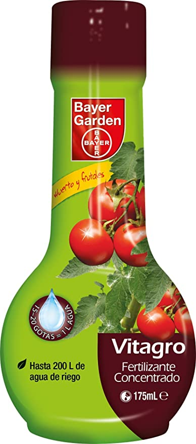 Bayer Garden - Fertilizante Concentrado Para Huerto, 175ml