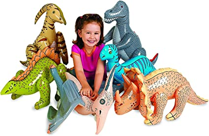 INFLATABLE DINOSAUR DINO KIDS PARTY SWIMMING POOL BEACH PARTY TOY CHRISTMAS GIFT