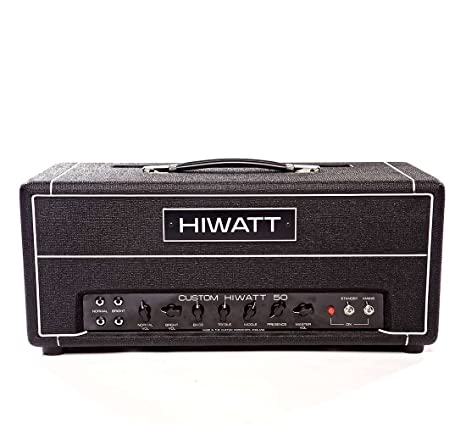 Hiwatt DR504 Custom 50 serie Custom Shop Head-Cabezal amplificador de guitarra Hiwatt UK