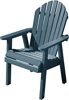 product image for Highwood AD-CHDA2-NBE Hamilton Deck Chair, Dining Height, Nantucket Blue