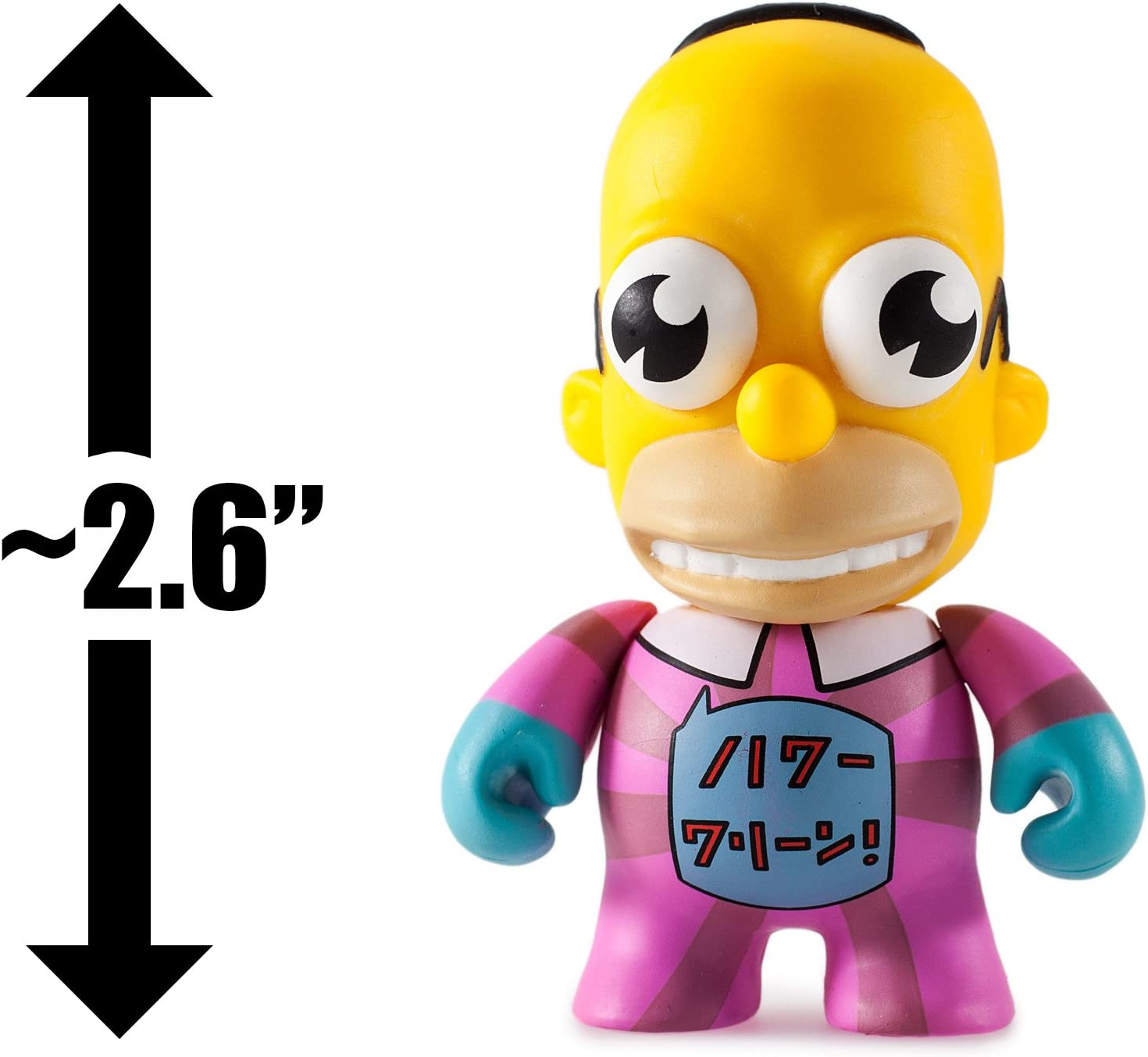 "Sleazy Duff Simpsons Anniversary 3/"" Vinyl Mini Series Kidrobot Brand New"