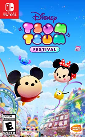 Disney TSUM TSUM FESTIVAL for Nintendo Switch [USA]: Amazon.es ...