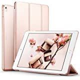 ESR iPad pro 9.7 inch Case, Smart Case Cover [Synthetic Leather] Translucent Frosted Back Magnetic Cover with Auto Sleep/Wake Function [Light Weight] (Rose Gold)