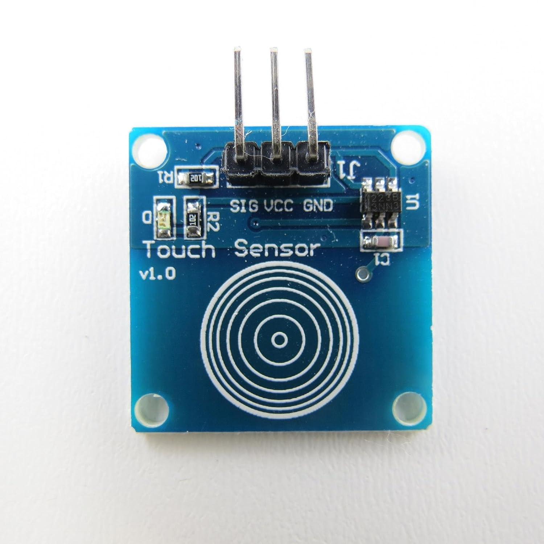 Ttp223 Kapazitiver Berhrungsloser Schalter Touch Switch Digital Sensor Modulein Integrated Circuits Arduino Alle Produkte
