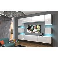 Home Direct NOWARA N1 1A Modernes Wohnzimmer Wohnwände Wohnschränke Schrankwand