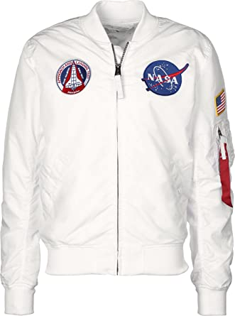 vasta selezione di bfb41 9e1ca Alpha Industries Jacket MA-1 TT NASA Reversible II: Amazon ...