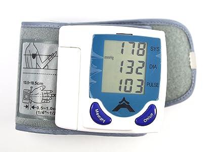 SODIAL(TM) Tensiometro Digital de Muneca