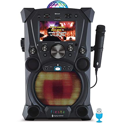 Amazoncom Singing Machine Fiesta Karaoke System Sdl9037 Musical