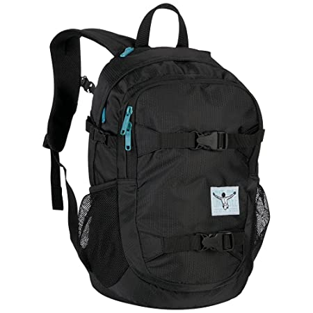 64003b1f419 Chiemsee School, BA, Backpack Casual Daypack, 48 cm, 26 liters, Black  (999): Amazon.co.uk: Luggage